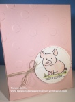 Stampin' Up! Tammy's Stamping Creations This Little Piggy