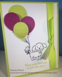 Stampin' Up! Tammy's Stamping Creations Bella and Friends Balloon Celebration Happy Birthday Gorgeous