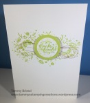 Stampin' Up! Tammy's Stamping Creations Wood Words Thank You Card Set