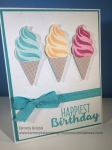 Stampin' Up! Cool Treats Birthday Tammy's Stamping Creations