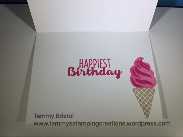 Tammy's Stamping Creations Stampin' Up! Cool Treats
