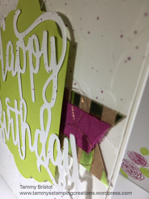 Tammy's Stamping Creations Stampin' Up! Happy Birthday Gorgeous