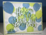 Tammy's Stamping Creations Stampin' Up! Wood Words Happy Birthday Thinlit